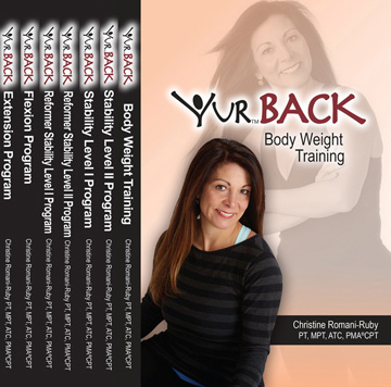 YUR Back Complete DVD Set