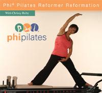 PHI Pilates Reformer Reformation DVD-