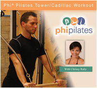 PHI Pilates Tower/Cadillac Workout DVD-