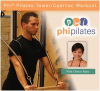 PHI Pilates Tower/Cadillac Workout DVD-