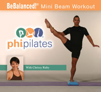 BeBalanced Mini Beam Workout DVD-