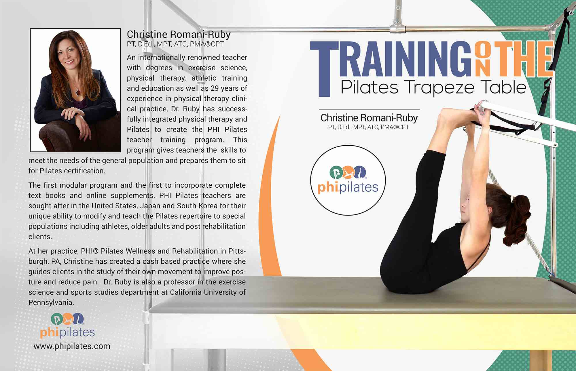 PHI Pilates Tower/Cadillac Manual-