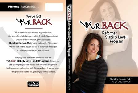 YUR Back Reformer Stability Level I Program DVD-