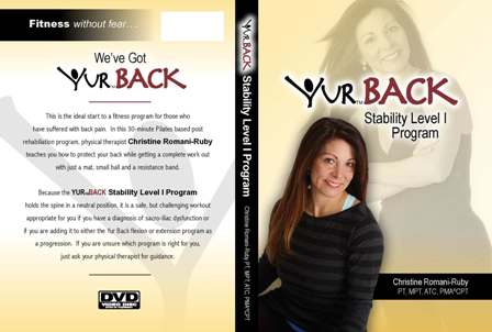 YUR Back Stability Level I Program DVD-