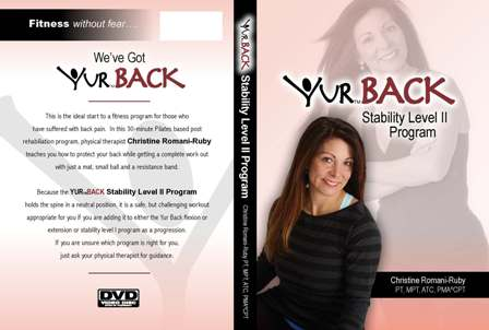 YUR Back Stability Level II Program DVD-