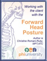 Working with the Client with Forward Head Posture-